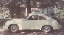 Bob's first Porsche - 356A normal - ~475,000 miles now but only 175,000 then (1970s)